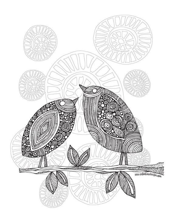 Coloring page by Valentina Ramos