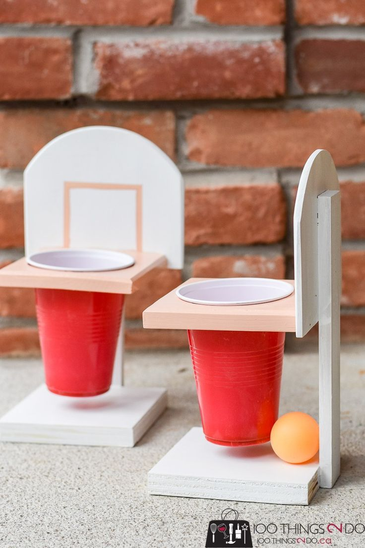Championship Beer Pong With Or Without Beer Diy Brinquedos E Jogos
