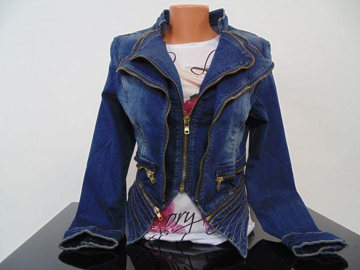 Džínsová vesta Monako - Nina Luxury - dámske oblečenie a doplnky