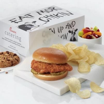 Chick Fil A Breakfast Tray Pleasing 8 Best Catering Images On Pinterest  Catering Menu Bridal Shower