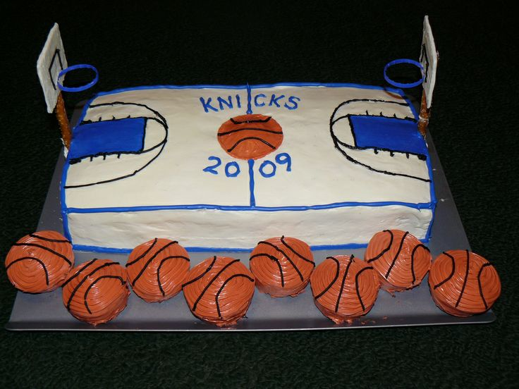 basketball court cake - Google Search