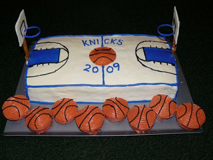 basketball court cake - Google Search