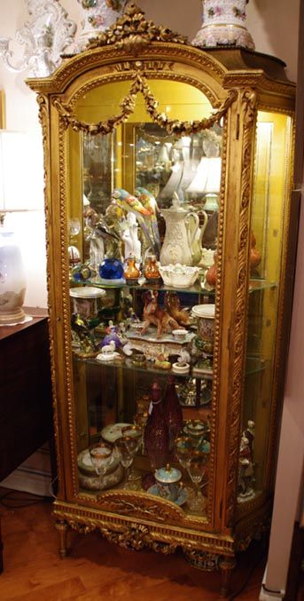 Curio Cabinets Glass Shelves And 19th Century On Pinterest