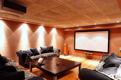 - Sala de cine en casa ...