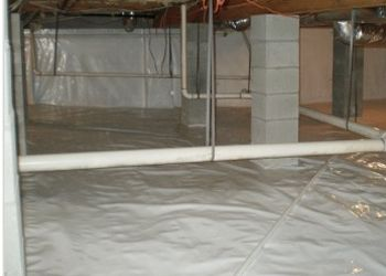 Most homeowners don't realize that moisture or water in a crawl space doesn't stay in the crawl space. Moisture rises from the soil as vapor and infiltrates into the structure above. These vapor molecules soak into floor joist, sub flooring, insulation, and on into the air quality of your living spaces. Moisture in the air means humidity, and humidity means slower drying and the growth of mold, mildew and other health hazards.