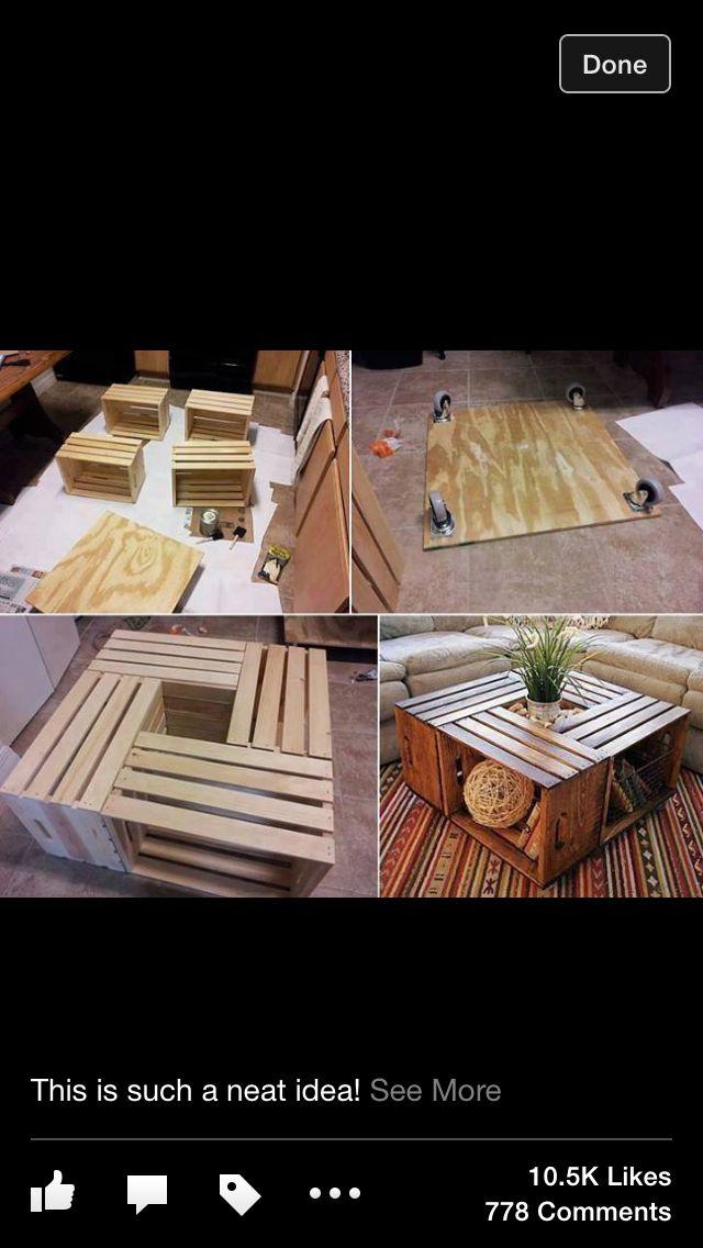 Cheap DIY coffee table