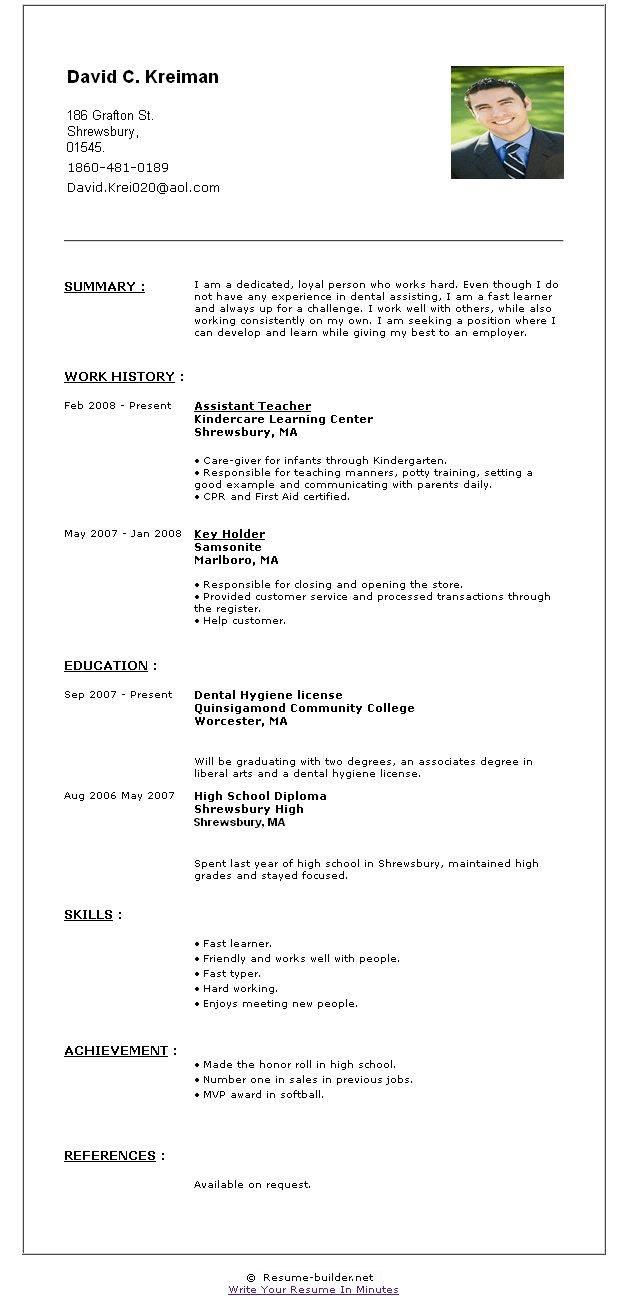 best 25 free online resume builder ideas on pinterest online - Resume Builder Websites