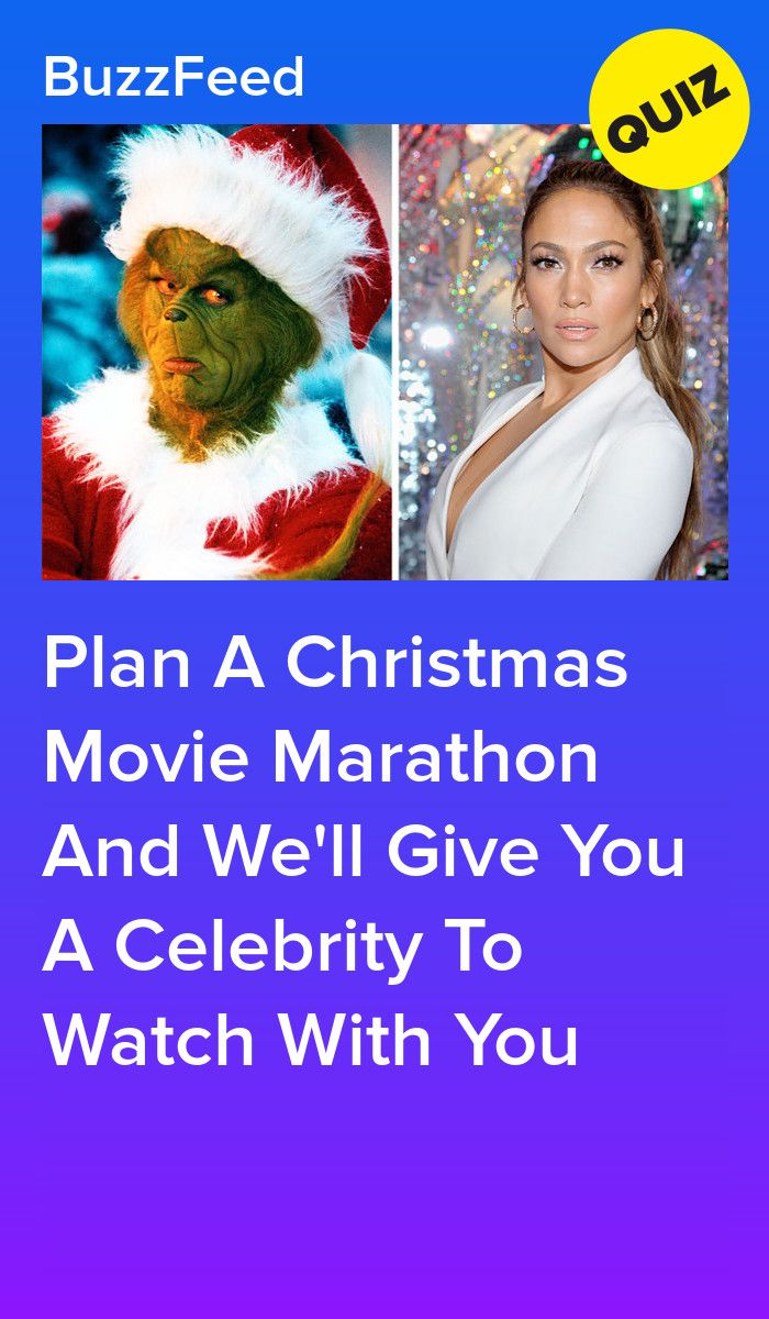 Plan A Christmas Movie Marathon And We Ll Give You A Celebrity To Watch With You Christmas Movies Movie Marathon Buzzfeed Movies