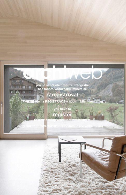 snový minimalistický dům pro Gudrun