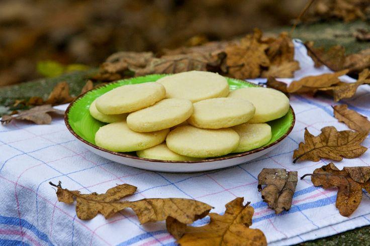 Vůně ze Severu: SKOTSKO: Skotské máslové sušenky
