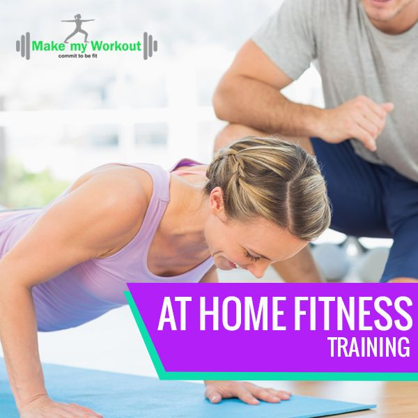 Fitness at home with certified trainers and customized workouts