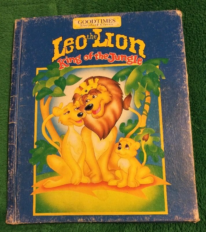 Vintage 1994 Leo The Lion King Of The Jungle W. S. Craig Hardback Kids Book  | eBay