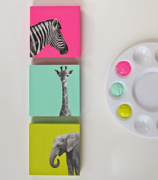 Mimundomanual: Cómo hacer unos cuadros decorativos para niños