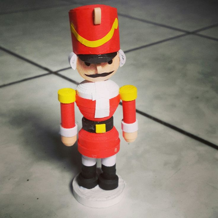 Nutcracker quilling. Very handsome..