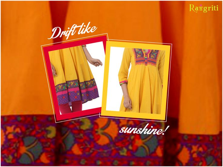 As bright an peppy as sunshine, get our sunshine yellow collection
