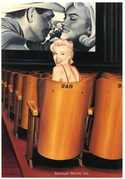 "watching ""The Misfits"" Checkout Marilyn Monroe in Colour also on facebook"