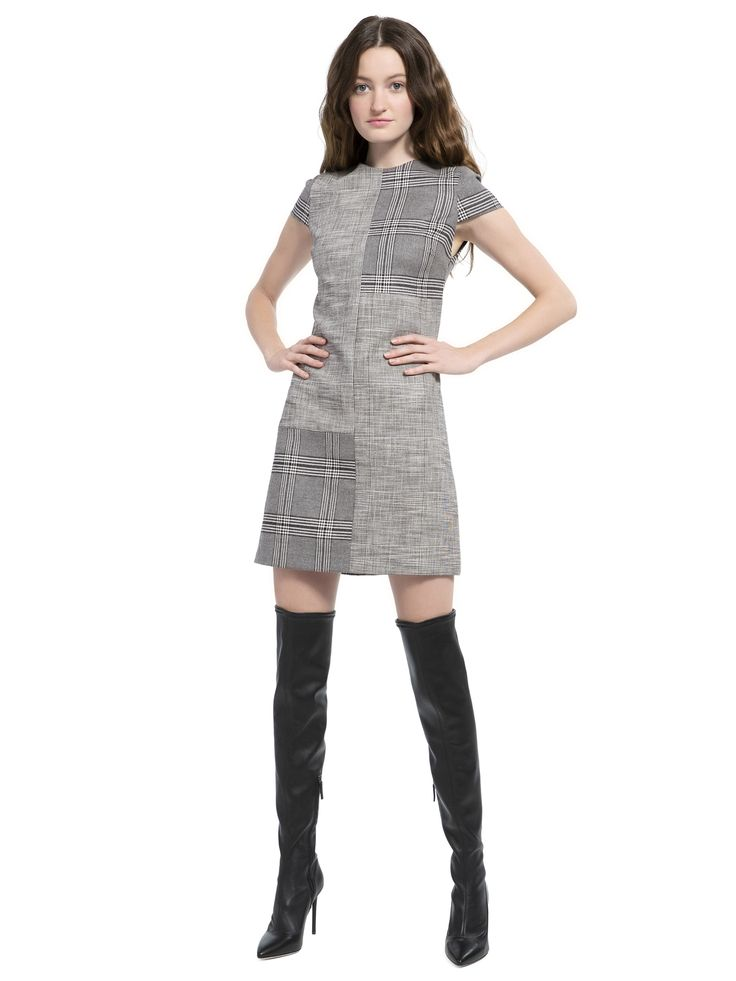 COLEY CAP SLEEVE ALINE MINI DRESS by Alice + Olivia (With