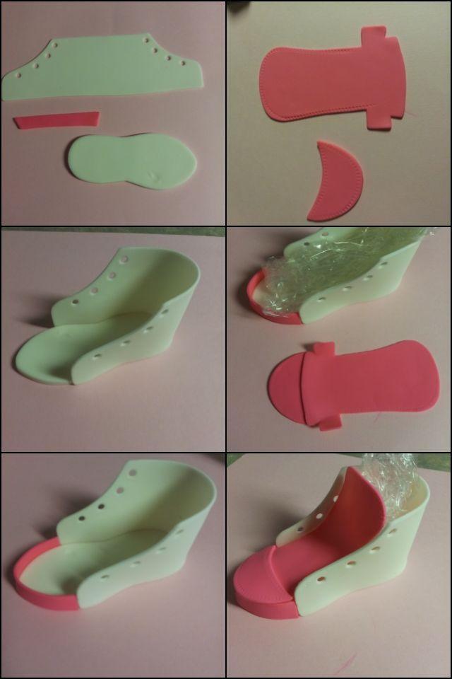 High Top Sneaker Shoe Cake Decorating Tips Pinterest
