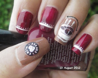 Coffee Nails | Funky French Tip Nails | Pinterest | Coffee, Nail nail and Beauty nails