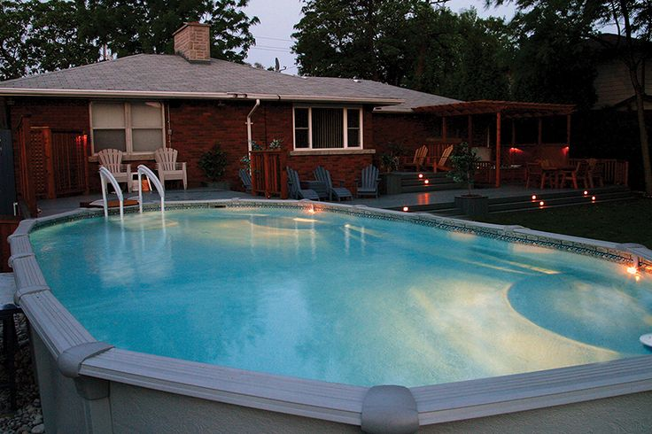 22 best hickory dickory deck s pool decks images on - Swimming pools burlington ontario ...