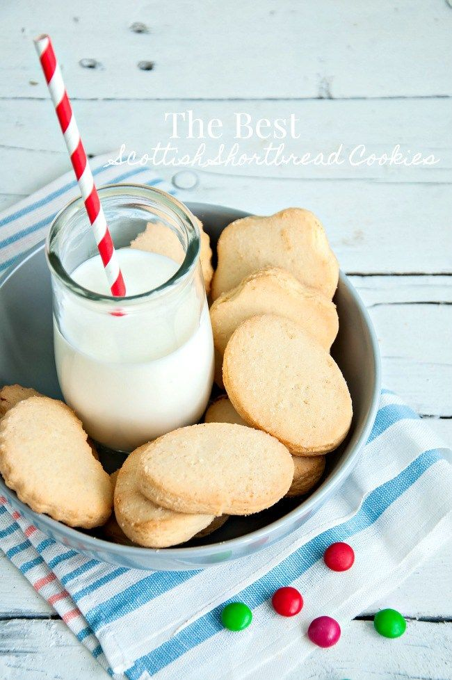 THE BEST SCOTTISH SHORTBREAD COOKIES EVER! So simple and melt in your mouth delicious!