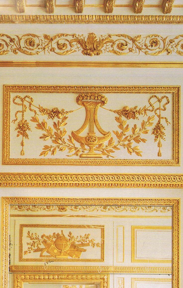 : Beauty Wall, Rococo Gilt, Gilt Boiseri, Mirror Details, Gold Brightening, French Decoration, Interiors Details, Gold Wall, Architecture Details
