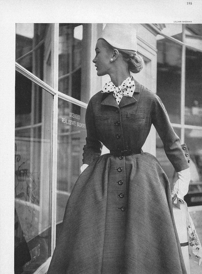Lillian Bassman, 1952 Harper's Bazaar