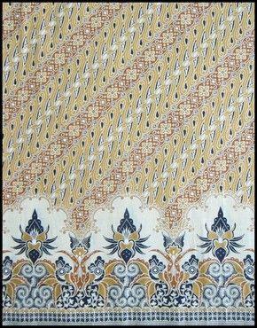 Textiil  - Printed Batik Sarong - Market - Solo, Indonesia