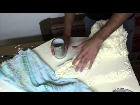 Creare cascata e fiume del presepe - Parte6 - YouTube