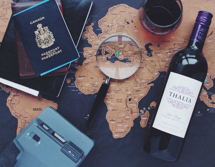 A little travel inspiration by Thalia Wine. If you could go anywhere where would it be?