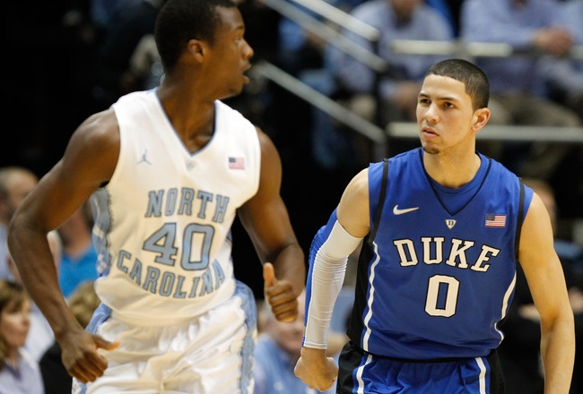 poor tar heels...austin rivers is bout to embarass you again!!! <3 DUKE