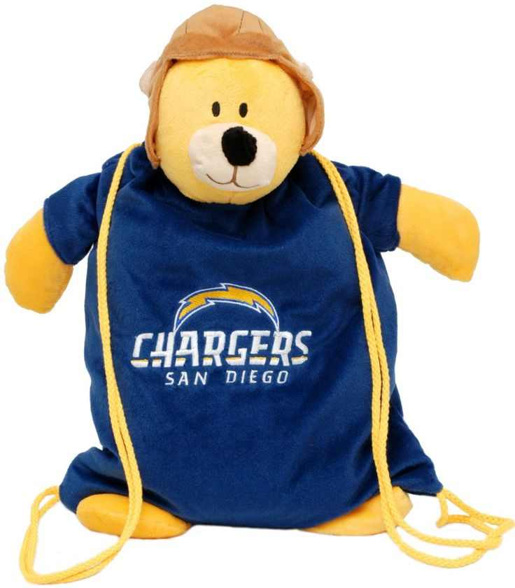San Diego Chargers Backpack: San Diego Chargers Back Pack Pal