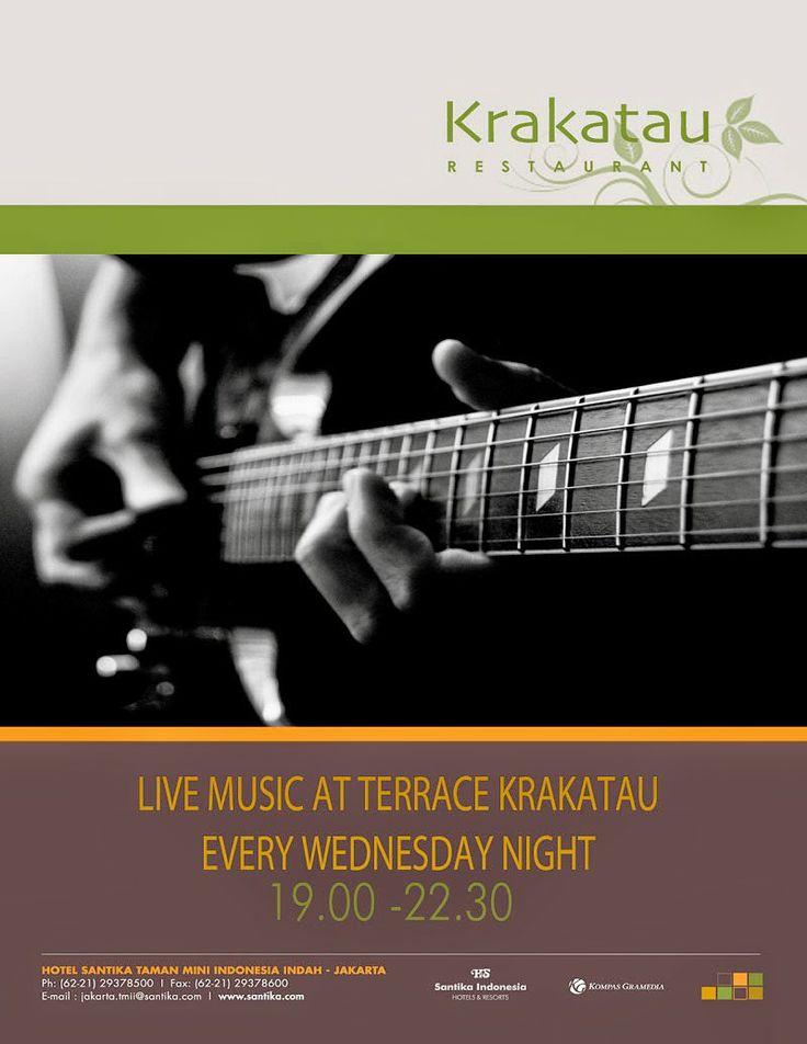 SUPER SAVER PACKAGE: LIVE MUSIC AT KRAKATAU RESTAURANT  Music is My Li...