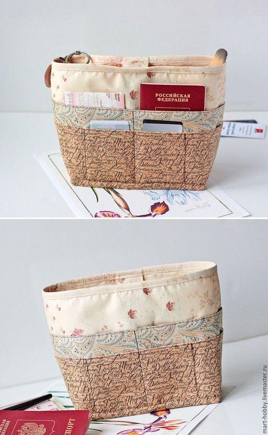 Органайзер для сумки, тинтамар Garden_3, несессер Мария Исмангалиева M`Art