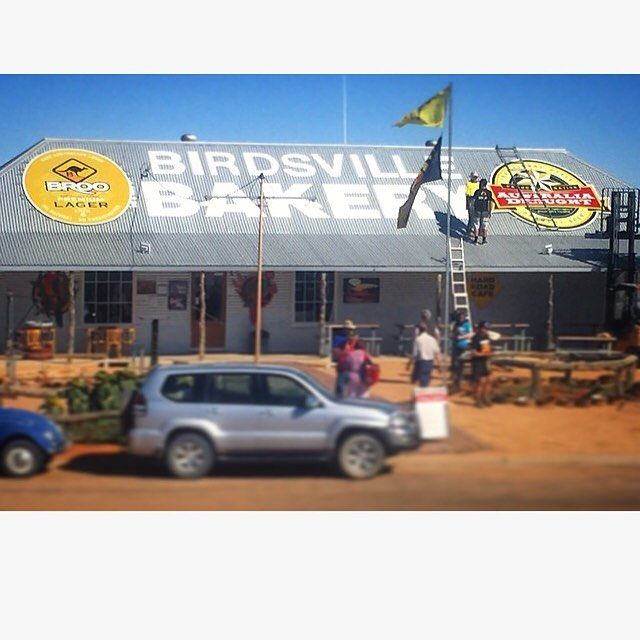 Tastiest looking #bakery ever!  #broodiful #birdsville #birdsvillebakery #queensland #outback #australia #straya #beer #beerstagram #beerpics #instabeer #broopie #kangaroo #broobeer #australiadraught #flag by broo_beer