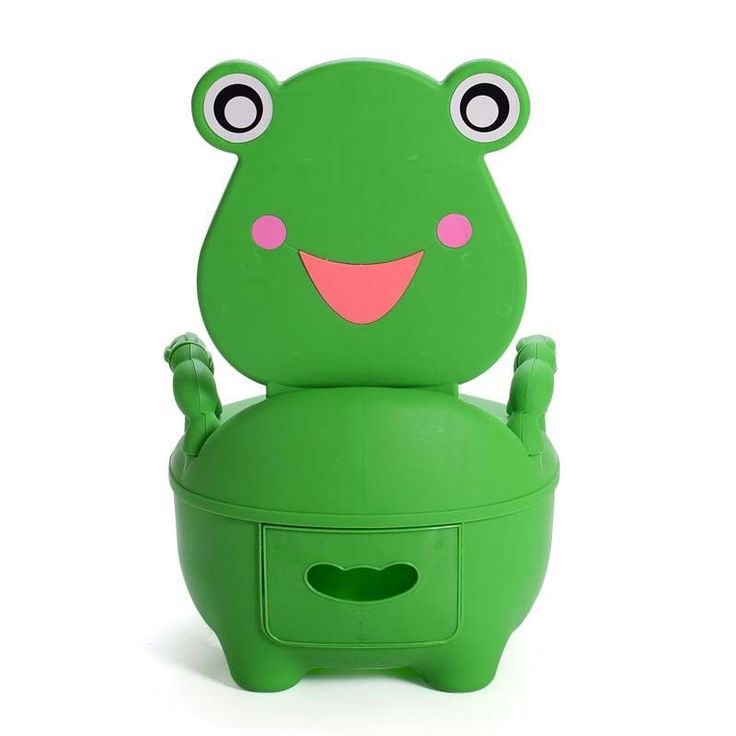 Baby Kids travel portable Potty Toilet plastic Urinals boy Drawer Frog Cartoon Toilet Training seat 0-5 Years