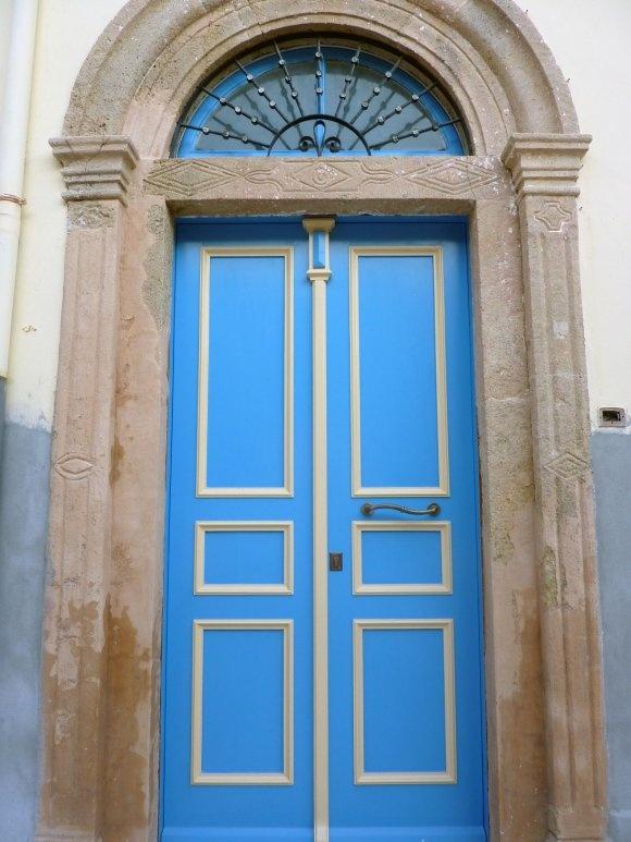 Blue Door, Leros Island