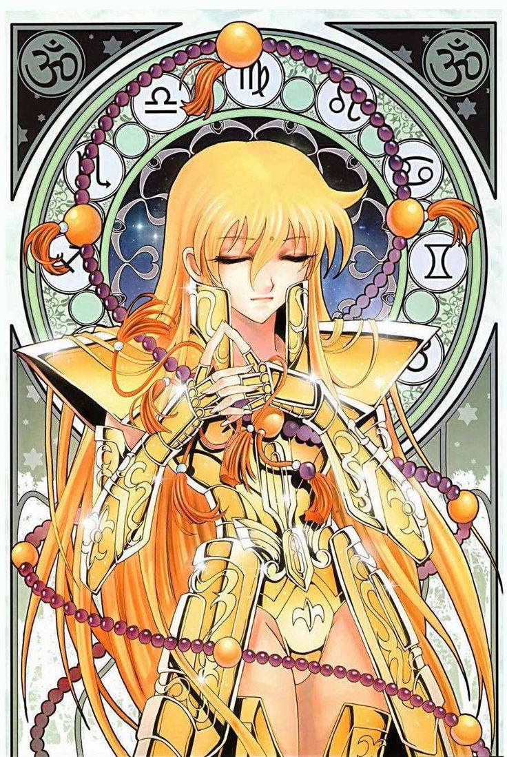 Saint Seiya Female Virgo