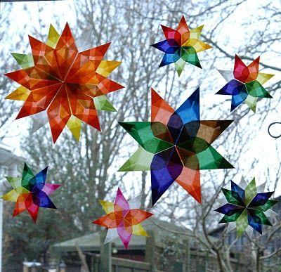 an abundance of rainbows: Window Star Tutorial