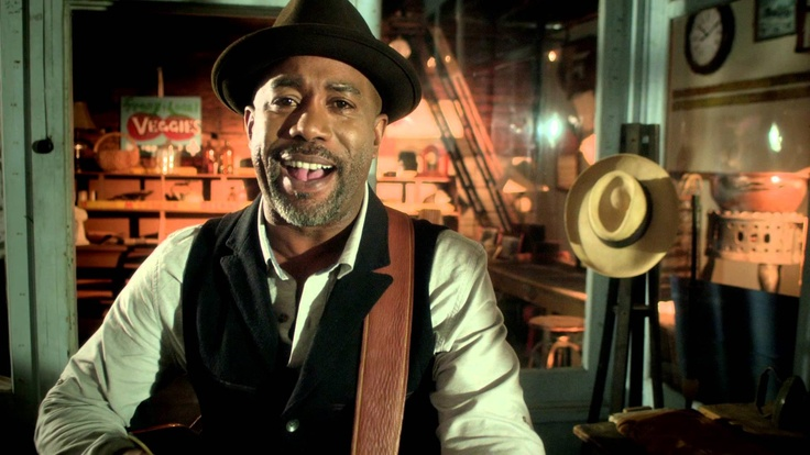 Darius Rucker - Wagon Wheel, via YouTube. He is just so musical talented and overall well liked. I know he's married already but I would  def marry him for sure.