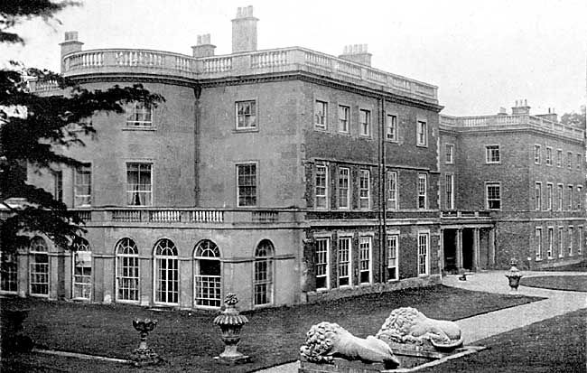 Old Mansions | Clifton Hall, c.1900.