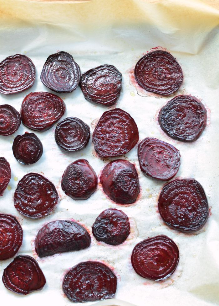 Simple Roasted Beets ~ I do love beets, and roasting them is the absolute best way to cook them if you ask me. It makes them candy sweet. These would be perfect as a simple side to just about any meal and if you have a few leftover, they are excellent cold in salads.