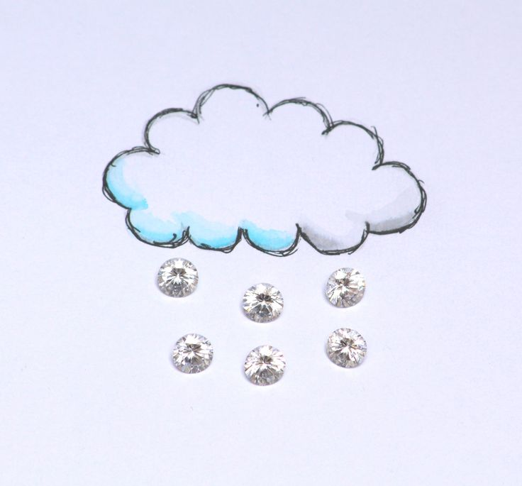 Cloudy with a chance of DIAMONDS