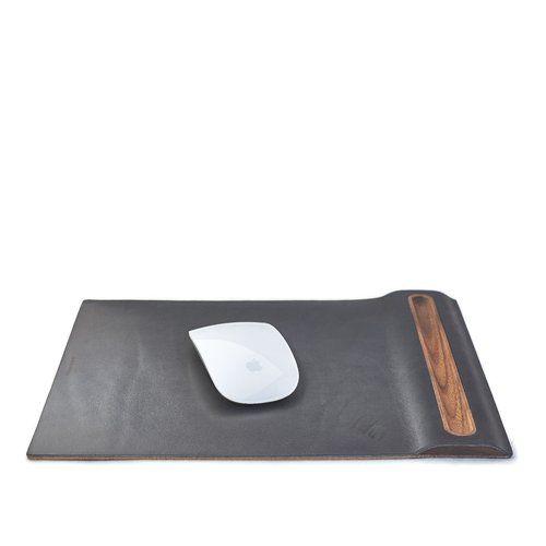 Wooden Desktop Accessories in Walnut, Maple, Cork & Leather