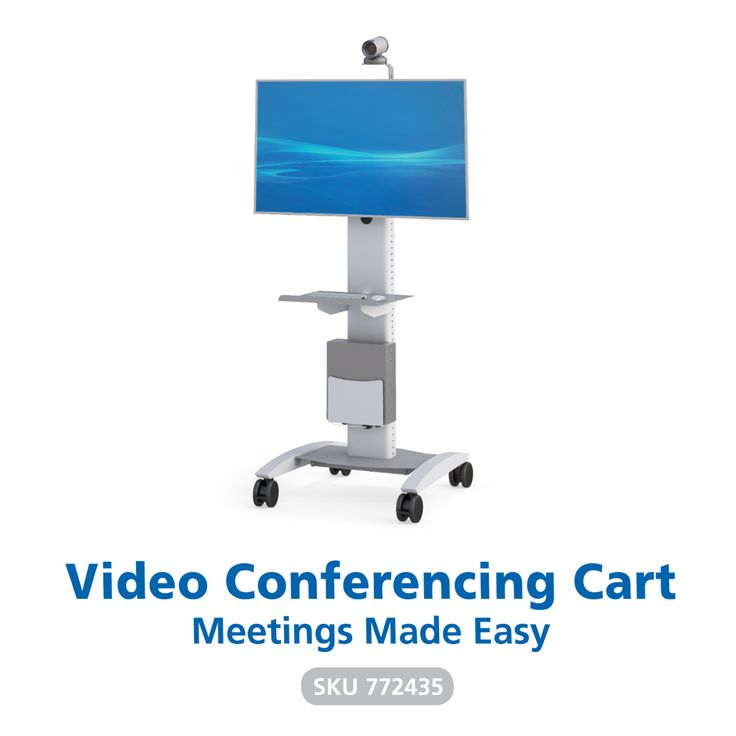 The ultimate in mobile video conferencing technology, the AFC Industries Plasma Carts are perfect for meetings, presentations, and seminars. The perfect solution for all of your video needs