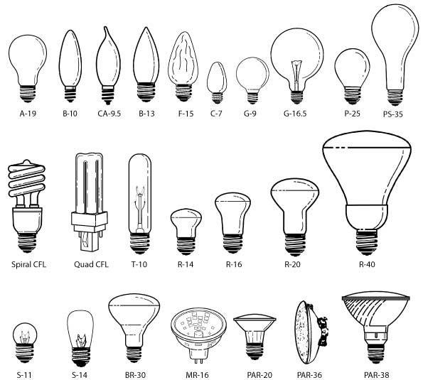   P   All About Light Bulbs