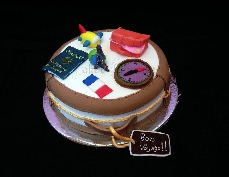 Traveller Themed Cake