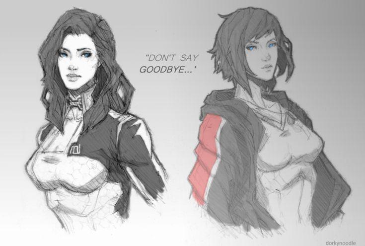 Mass Effect,фэндомы,ME art,Miranda Lawson,Femshep