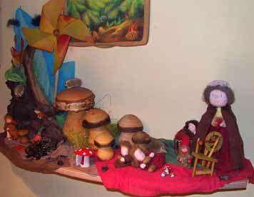 Vrije Opvoeding > De seizoenstafel in de Herfst