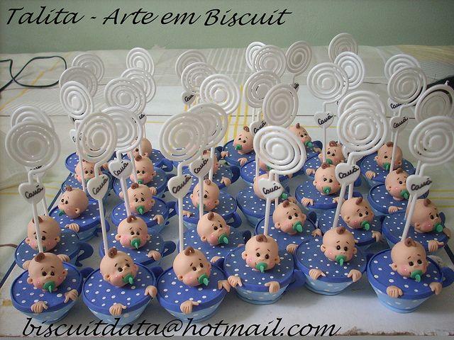 Lembrancinha de nascimento by Biscuit da Ta, via Flickr